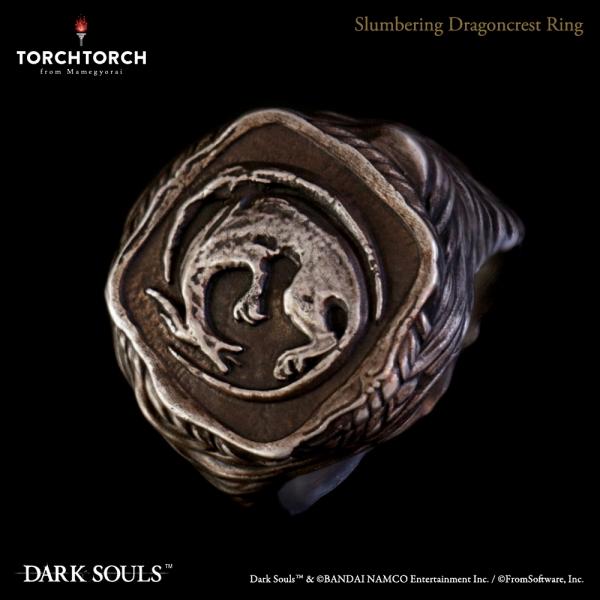 静かに眠る竜印の指輪 2020 |DARK SOULS × TORCH TORCH