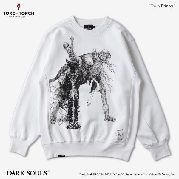 双王子ローリアンとロスリック スウェット 2021 |DARK SOULS × TORCH TORCH