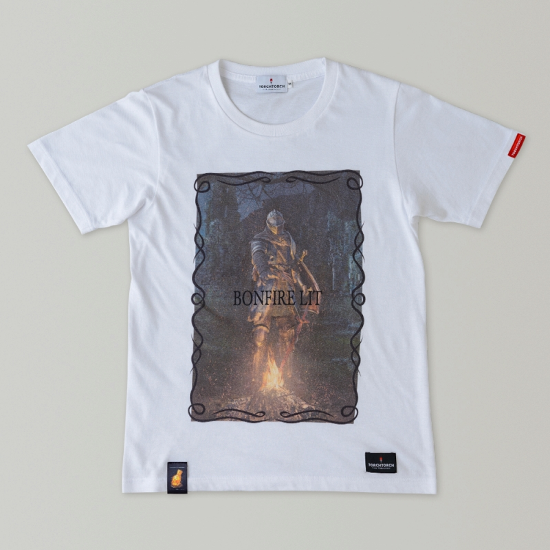 BONFIRE LIT T-SHIRT | DARK SOULS × TORCH TORCH