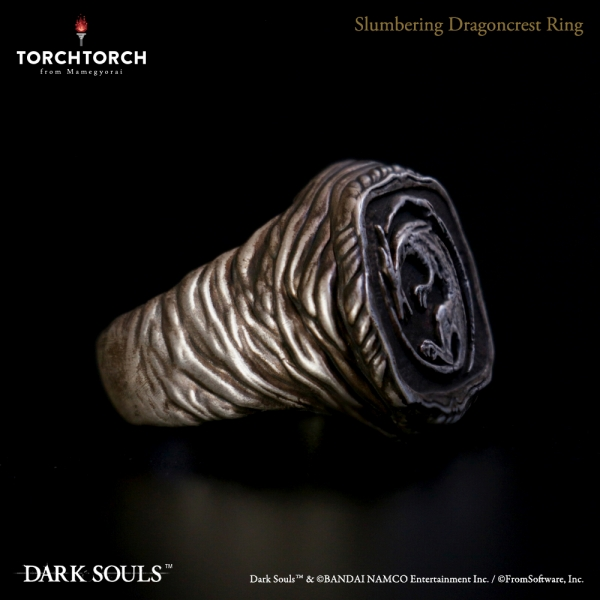 The Slumbering Dragoncrest Ring DARK SOULS × TORCH TORCH