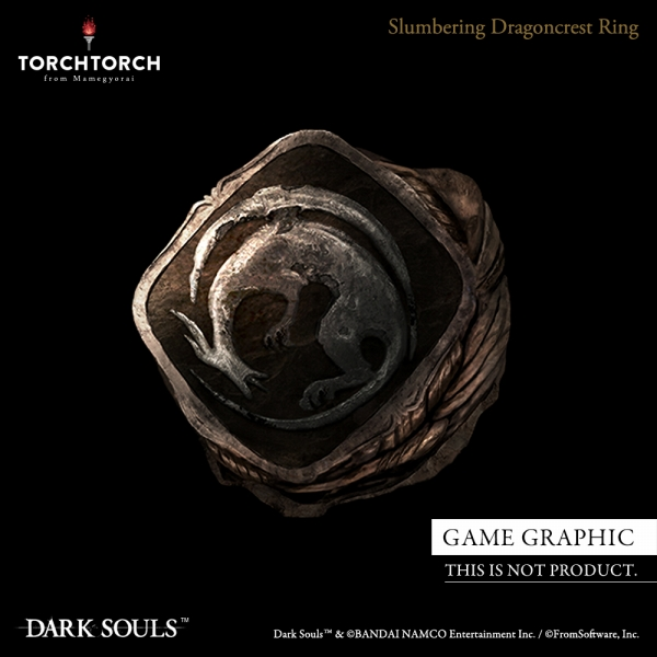 Slumbering Dragoncrest Ring DARK SOULS × TORCH TORCH