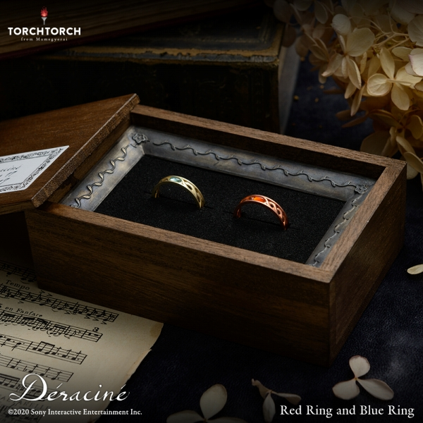 赤い指輪と青い指輪 Déraciné × TORCH TORCH