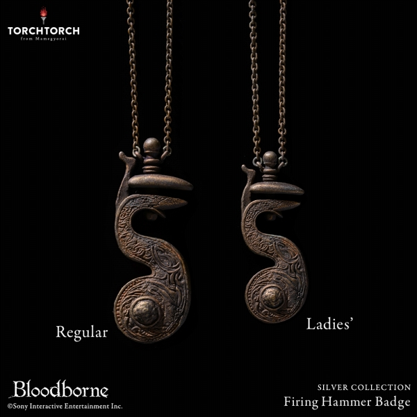 Firing Hammer Badge Bloodborne×TORCH TORCH(トーチトーチ)