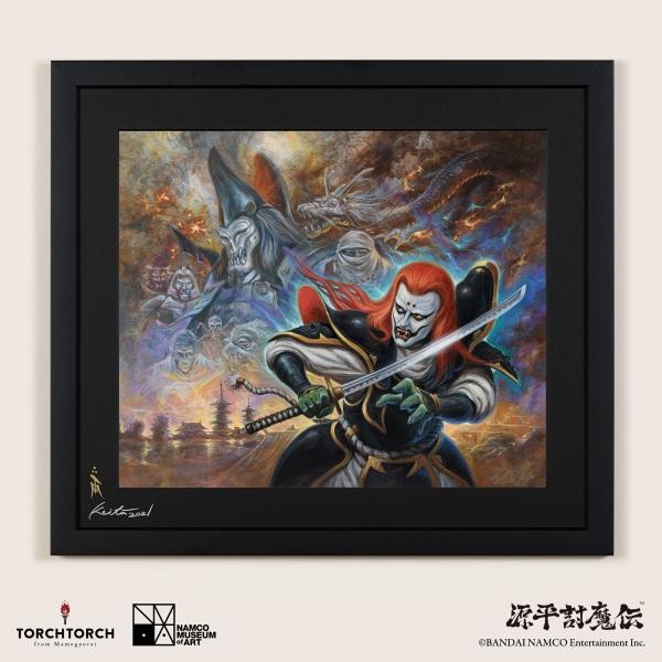 Genpei Touma Den Key Visual by Keita Amemiya NAMCO MUSEUM of ART × TORCH TORCH